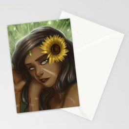 Nidalee from league of legends Stationery Cards