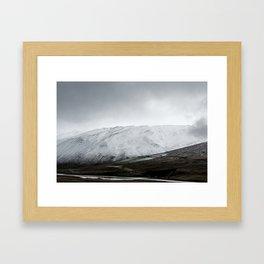 September snow Framed Art Print