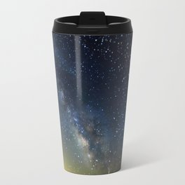 Milky Way bokeh Travel Mug