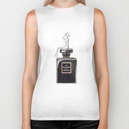 Black parfum with girl Biker Tank