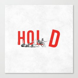 Hold Canvas Print