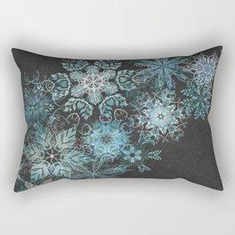 The Mountain Drift Rectangular Pillow