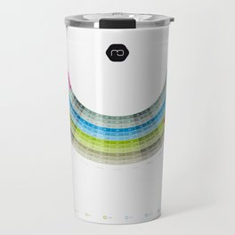 Infographic Calendar 2012 (german, with holidays) Travel Mug