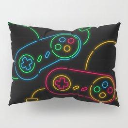 Neon Nostalgia Pillow Sham