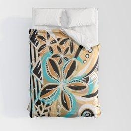 Hawaiian - Samoan - Polynesian Tiare Tribal Designs Comforters