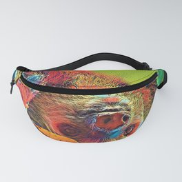 AnimalColor_Sloth_001_by_JAMColors Fanny Pack