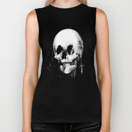 All Is Vanity: Halloween Life, Death, and Existence Biker Tank