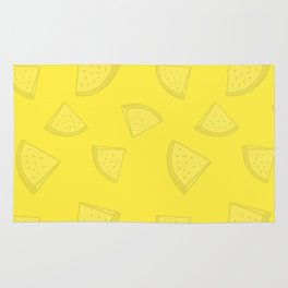 Watermelons in Yellow Rug