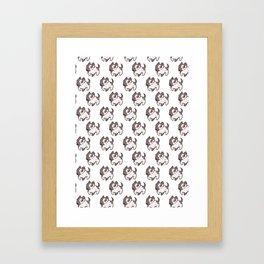 Puppers! Framed Art Print