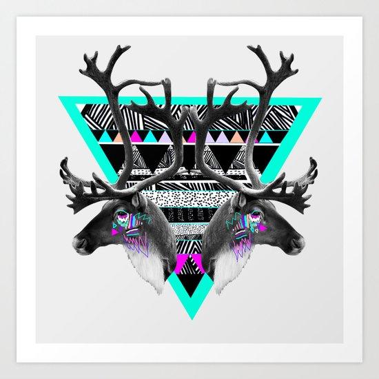 ▲CARIBOU▲ Art Print