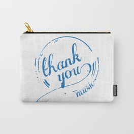 Thank You Music Carry-All Pouch