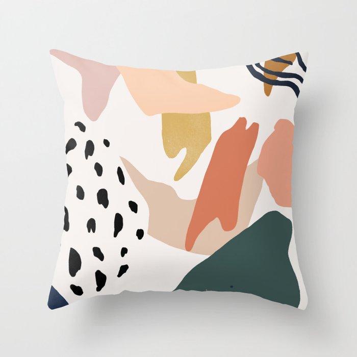 Color Study #4 Throw Pillow