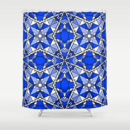 Blue Sapphire Shower Curtain