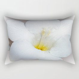Freesia in bloom Rectangular Pillow