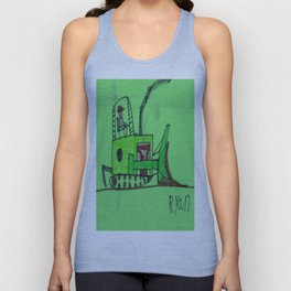 Moving Earth Unisex Tank Top