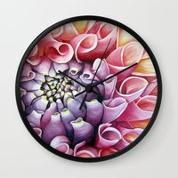 mexican Wall Clocks featuring Mexican Verano by Sophiamonique