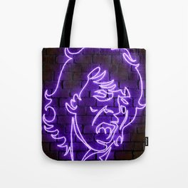 Jagger neon art Tote Bag