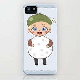 Niall Horan, the golf ball. iPhone Case