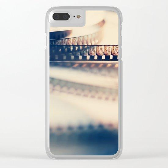 super 8 film II Clear iPhone Case