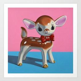 Dapper Deer Art Print