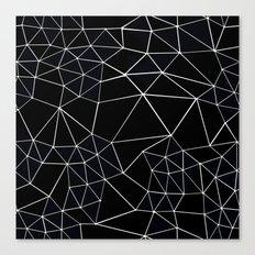 Segment Zoom Black and White Canvas Print