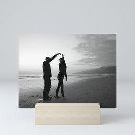 Beach // Love // Dance Mini Art Print