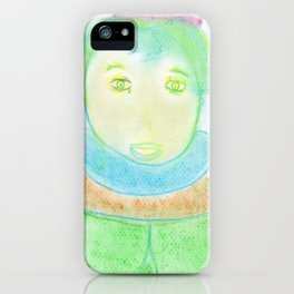 Spiritual Drawing of Author J. R. R. Tolkien iPhone Case