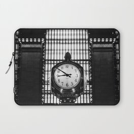 Clock in Grand Central Terminal Laptop Sleeve