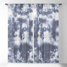 Tie Dye & Batik Sheer Curtain