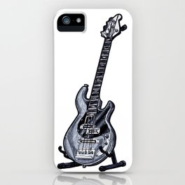 March Hare Bass iPhone Case