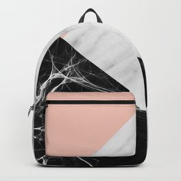 Marble Collage Backpack