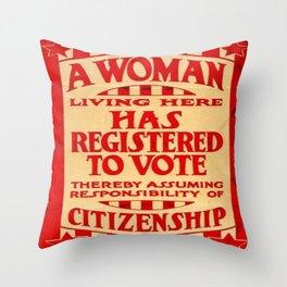 Equality...? Throw Pillow