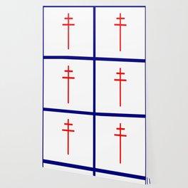 Croix de Lorraine- Wallpaper