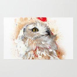 Harfang Owl Rug
