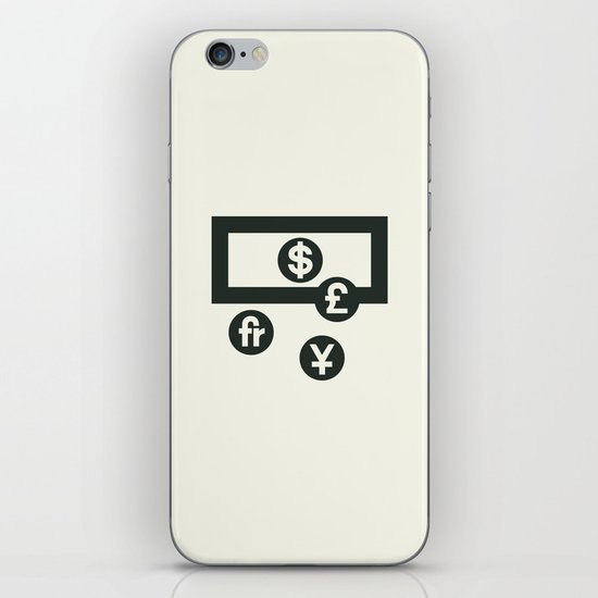 Money iPhone & iPod Skin