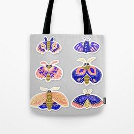 Moths 04 Tote Bag