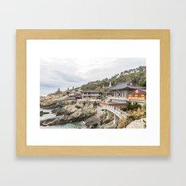 Haedong Yonggungsa Temple  Framed Art Print