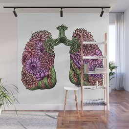 Plant Lungs Wall Mural