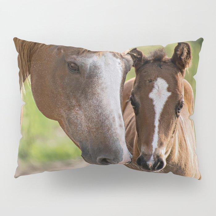Horse Family Pillow Sham