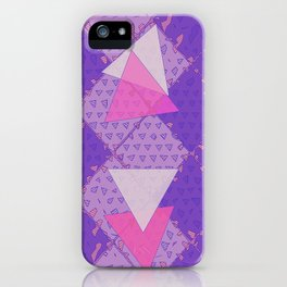 Triangular Love iPhone Case
