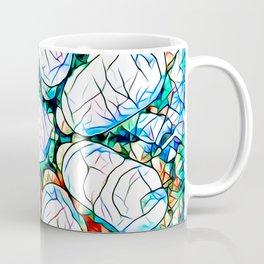 Glass stain mosaic 6 - octa - by Brian Vegas Coffee Mug