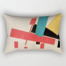 Don Quixote e Sancho Panza Rectangular Pillow