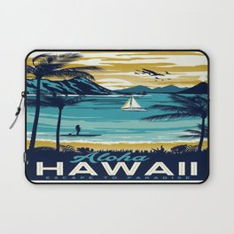 Vintage poster - Hawaii Laptop Sleeve