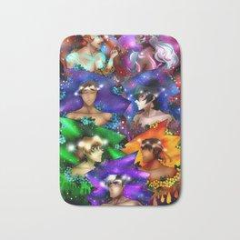 Voltron Flower Galaxy Bath Mat