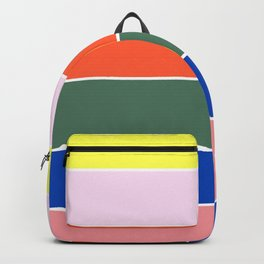 Colorful Rainbow lines Backpack