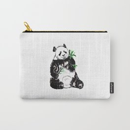 Big Panda Black and White Carry-All Pouch