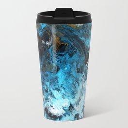 Abstract fluid art Travel Mug
