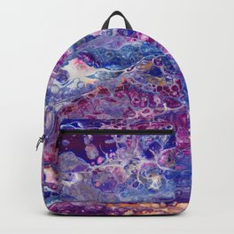 Psycho - Stream of Consciousness in Lively Color Flow by annmariescreations Backpack