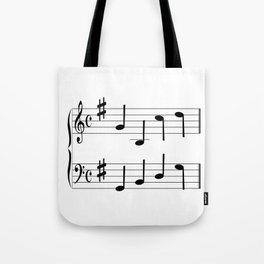 Music Chord Tote Bag