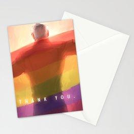 Shiro pride flag Stationery Cards